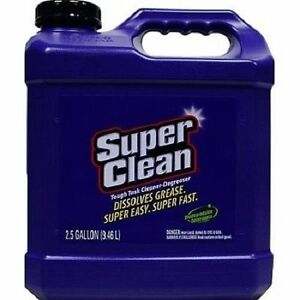 (4) SuperClean Cleaner-Degreaser Concentrated 2.5 Gallons (Pack of 4) 101724