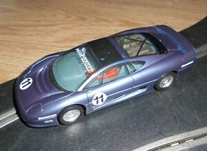 Scalextric Jaguar XJ220 touring / rally car # 11 superb and fast