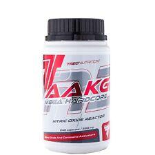 TREC NUTRITION  AAKG 240 Caps Mega Hardcore L-Aarginin+Citrulinmalat Pre Workout