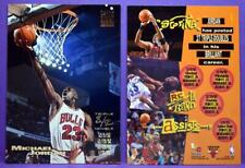 Michael Jordan Chicago Bulls 1993-94 Stadium Club Triple Double Base Card #1