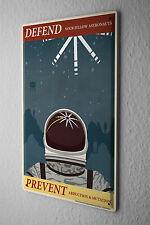 Tin Sign Nostalgic Space astronaut