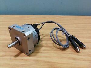 Festo 90 Deg. Air Pneumatic Semi Rotary Drive DSM-10-90-P-A With Switches