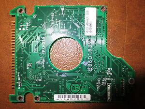 "Toshiba MK6421MAT (HDD2136 B ZF01 T) 013 A0/K2.10B 6495MB 2.5 "" Ide PCB"