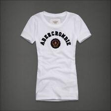 "Abercrombie & Fitch  ""Damen T-Shirt Zoe"" Weiss - Gr.M - kostenloser Versand"