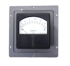 Vintage Weston Alternating Current Volt Panel Meter Gauge 0 15 Model744 No44797