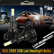 240W 10800LM  H1 LED Headlight Kit High Low Beam Auto 6000K White Light iBulbs