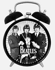 "The Beatles Alarm Desk Clock 3.75"" Home or Office Decor E174 Nice For Gift"