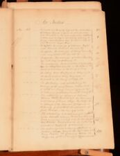 1783-93 A Bound Volume of Eighteenth Century Local Personal and Private Acts