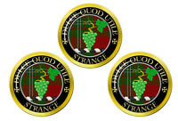 Strange Écossais Clan Marqueurs de Balles de Golf