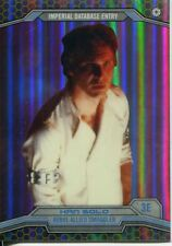 Star Wars Chrome Perspectives Gold Refractor Parallel Base #3E Han Solo