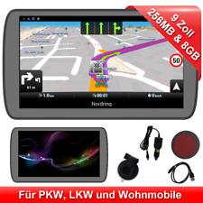 9 Zoll LKW PKW GPS Navigationsgerät Auto Navi 2D 3D Kartenansicht EU Karte POI