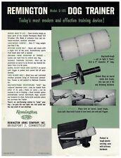 1 Sheet Flyer for Remington Dog Trainer Model D 105