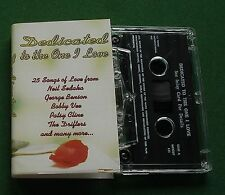 Dedicated To The One I Love Dells Drifters Patsy Cline + Cassette Tape - TESTED