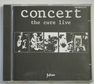 CD-THE CURE-CONCERT -THE CURE LIVE-1984-823 682.2