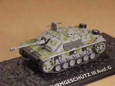 Atlas #4660113 1/72 Sd.Kfz.142/1 / Sturmgeschutz StuG III Ausf.G, German Army 43