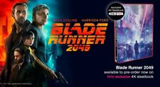 Blade runner 2049 HMV 4K + 3D + Blu-Ray Limited Edition Mondo Steelbook