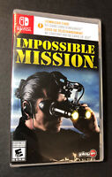Impossible Mission (Nintendo Switch) NEW