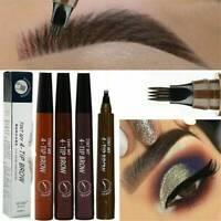 AU Microblading Eyebrow Tattoo Pencil Waterproof Fork Tip Sketch Makeup Ink Pen