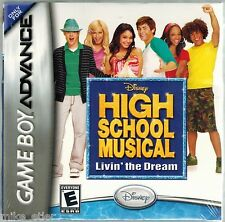 High School Musical: Livin' the Dream (Game Boy Advance) Factory Sealed