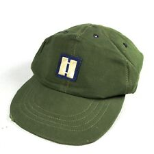 Us Air Force Usaf Og-107 Field Fatigue Ball Cap Captain Patch Rank 1963 Size 7