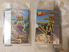 Set of 2 Madagascar 3D Buildables Melman Promotions Card - BRAND NEW - SEALED