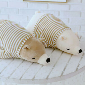 Lovely Soft  Bear Animal Doll Stuffed Plush Toy Home Party Wedding Kid