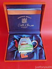 """Charlotte Di Vita Hemwarts"""" Homeward Bound"""" 1998 Ltd. Ed. 689 Miniature Tea Pot"""