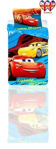 Kids Duvet Set,Disney Cars,TODDLER Bed Duvet Cover Set,Official Licensed(140X90