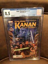 Star Wars Kanan The Last Padawan #1 CGC 8.5 1st Appearance Sabine Wren Ezra 🔥🔥