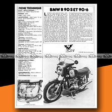 ★ BMW 900 R 90 S & R 90/6 ★ 1975 Essai Moto / Original Road Test #a107