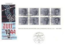 Germany 1964 FDC BL 3 Krieg War