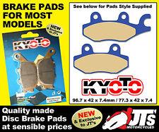 Trasero Conjunto De Disco Pastillas De Freno para adaptarse a E-Ton Quads cxl150 Yukon II Challenger (02 -)