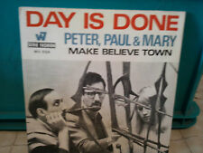 """peter paul & mary""""day is done""""single7""""or.fr.wb/vogue.:5124.biem."""