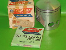 Yamaha Rt2 Rt3 360 1972-73 Piston And Ring Set Std Oem #308-11631-01-96/308-1163