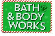 Bath & Body Works Green Mailed Letter Design Gift Card No $ Value Collectible