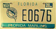 FLORIDA MARLINS license plate Miami MLB Baseball Park World Series League