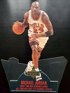 Michael Jordan Upper Deck Display