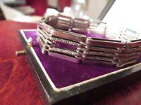 Elegantes 800 Silber Armband Lutz & Weiss Jugendstil Art Deco Designer Stäbchen