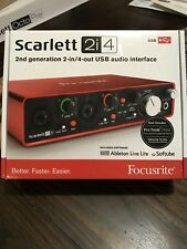 Focusrite Scarlett 2i4 (2nd Gen) Scarlett 2i4 MKII PROAUDIOSTAR--