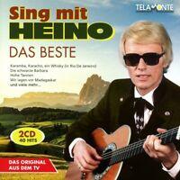 HEINO - DAS BESTE: SING MIT HEINO  2 CD NEW