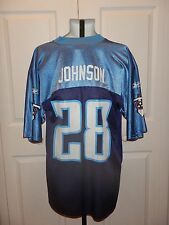 Tennessee Titans NFL Players Football Jersey #28 Johnson Med. Reebok