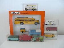 Brekina-Konvolut mit 8 Modellen und einem Set
