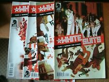 THE WHITE SUITS Nos, 1 - 2 - 3  & 4 of 4  ( 2014 ) DARK HORSE COMICS