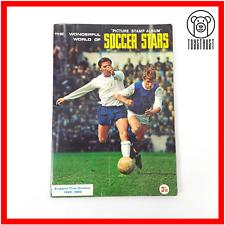 The Wonderful World of Soccer Stars 1968 1969 Vintage Complete Stamp Album