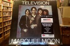 Television Marquee Moon LP sealed 180 gm vinyl RE reissue Rhino