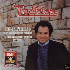 Itzhak Perlman - Tradition - Popular Jewish Melodies (CD 1987 EMI) Near MINT