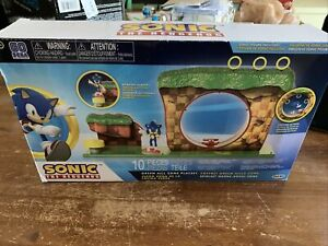 Sonic The Hedgehog GREEN HILL ZONE 10 Piece Playset Brand New TLP
