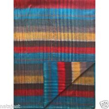 "DEAL! SOFT & WARM STRIPED ALPACA LLAMA WOOL BLANKET PLAID 90"" X 70"" QUEEN SIZE"