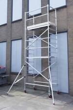 Basic rolsteiger 6 meter werkhoogte, met extra vloer