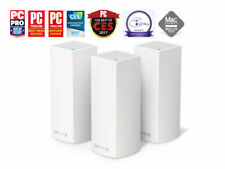 Linksys Velop Tri-Band Whole Home Mesh Wi-Fi - WHW0303 AC6600 WHW03 £499 3 UNITS